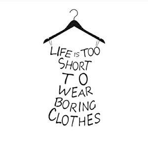 I love this saying, so POSH right?
